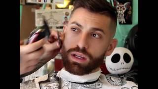 haircut at the barbershop
