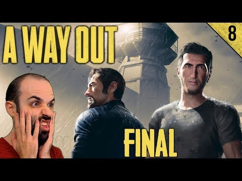FINAL DE PELÍCULA | A WAY OUT Gameplay Español