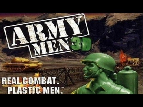 Classic 3d Wallpaper Hd Classic Ps1 Game Army Men 3d On Ps3 In Hd 1080p Youtube