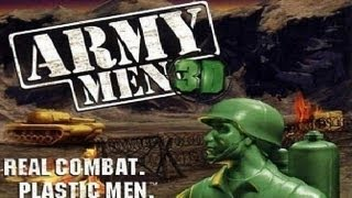 Classic PS1 Game Army Men 3D on PS3 in HD 1080p