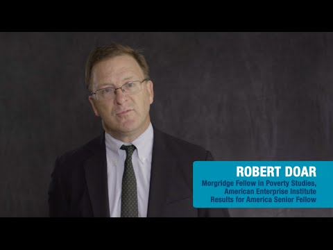 Invest in What Works Video Series - Robert Doar Profile