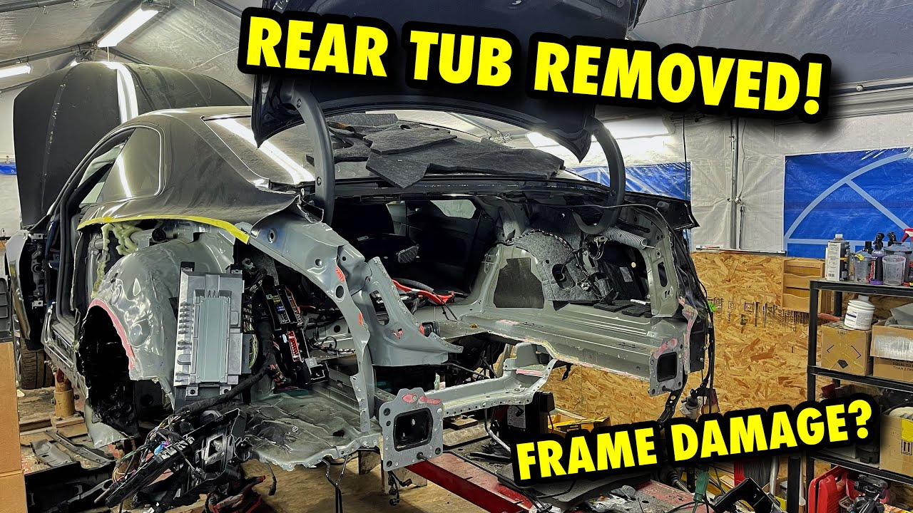 Rebuilding A 2019 Audi RS5 That Was Hit By A POLICE CAR!! Extreme Copart Rebuild!