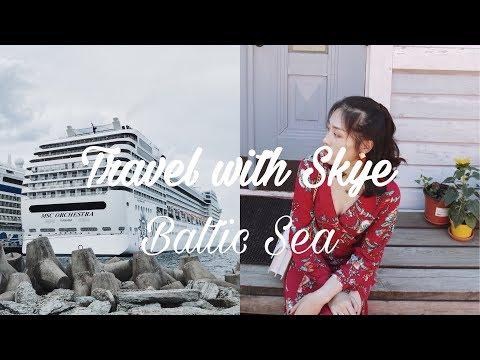 波罗的海邮轮vlog|芬兰|俄罗斯|爱沙尼亚|世界杯|Travel With Skye