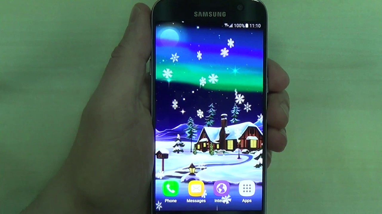 Northern Lights Live Wallpaper For Android Phones And Tablets
