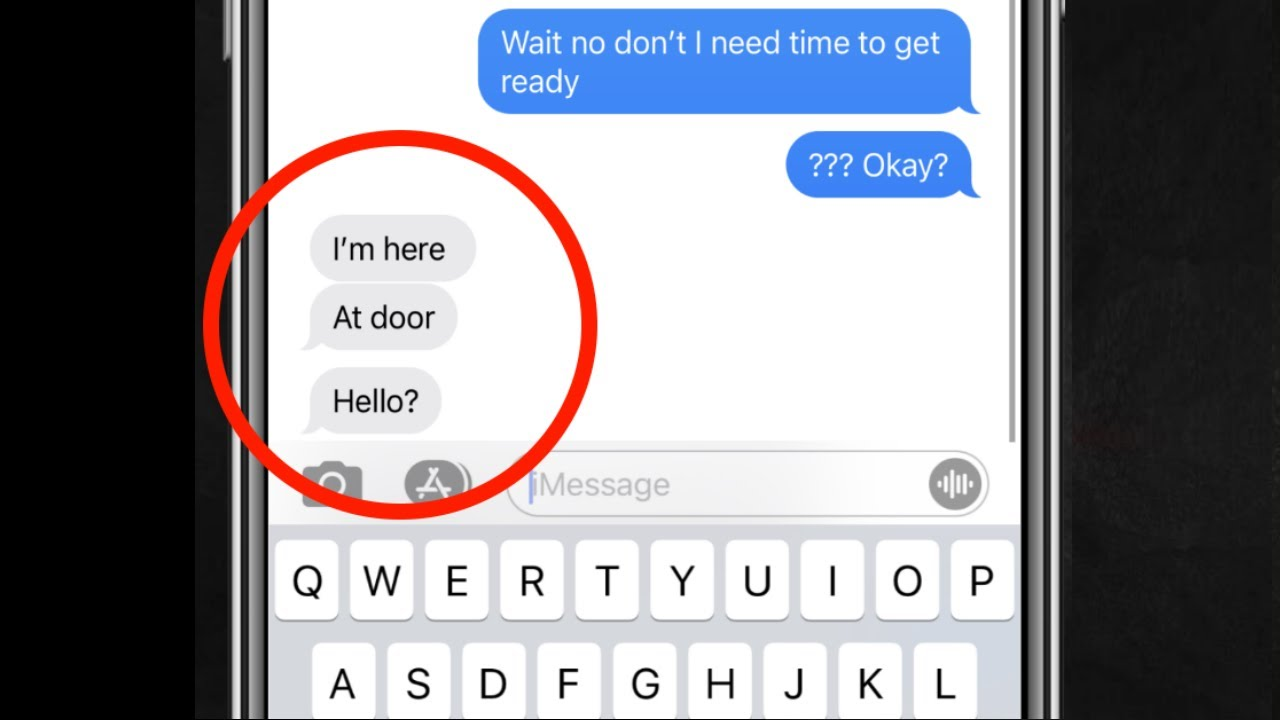 3 Text Conversations with Creepy Backstories