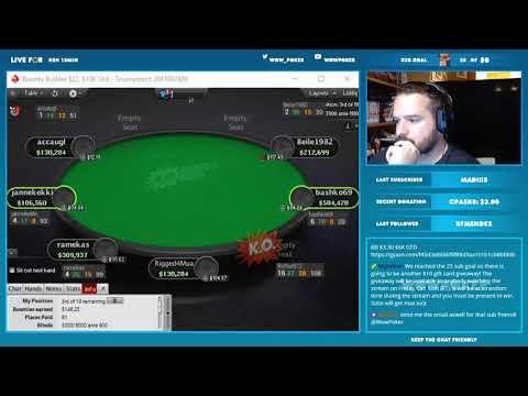 Bounty Builder $22 Win for $2,300!