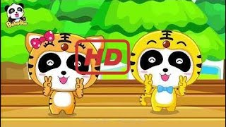Baby - Two Tigers Song + Chinese Kids Nursery Rhyme |Baby Panda| BabyBus  ep 286