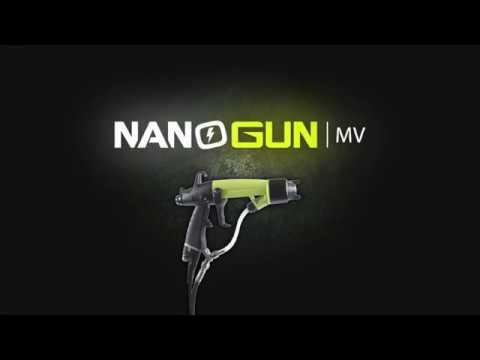pistolet lectrostatique peinture basse pression youtube