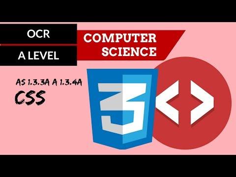 OCR A'Level CSS