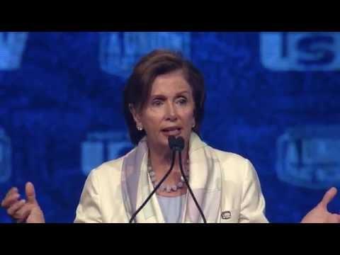 USW 2014 Convention: Nancy Pelosi