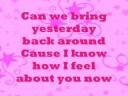Download Miranda Cosgrove - About You Now + lyrics