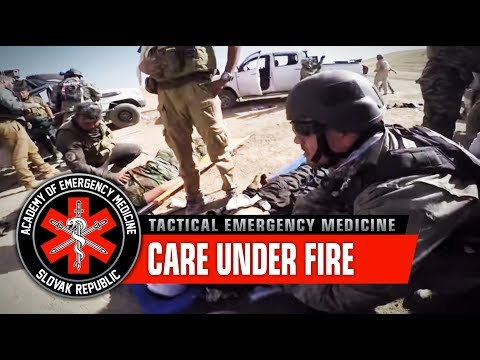 Care Under Fire - Combat medicine - Peshmerga / Academy of Emergency Medicine  (Graphic content)