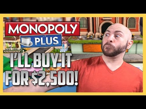 """MONOPOLY - """"I'LL BUY IT FOR $2,500!!"""""""