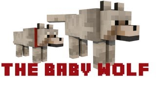 Repeat youtube video Minecraft: The Baby Wolf