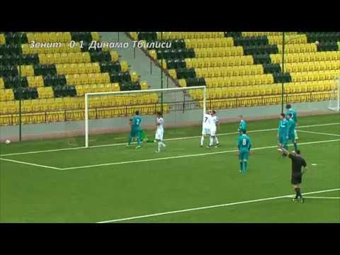 U17 Zenit 0:3 FC Dinamo Tbilisi