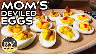 Mom's Deviled Eggs - How To Make The Best Deviled Eggs