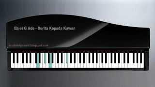 Ebiet G Ade - Berita Kepada Kawan on keyboard.mp4