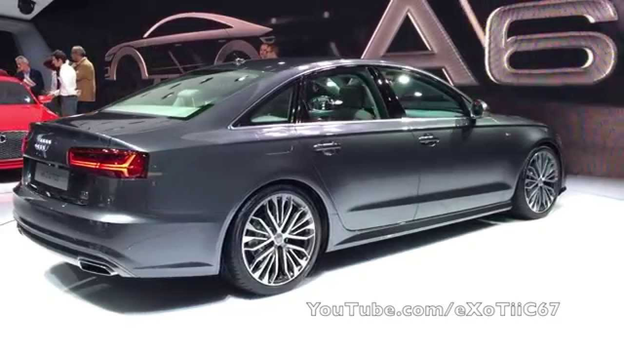 Mondial De L Auto Paris 2014 New 2016 Audi A6 Youtube