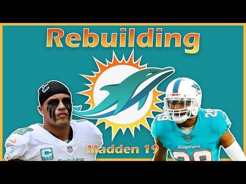 Madden 19 Rebuild   Miami Dolphins: 83 Overall Rookie Cornerback!