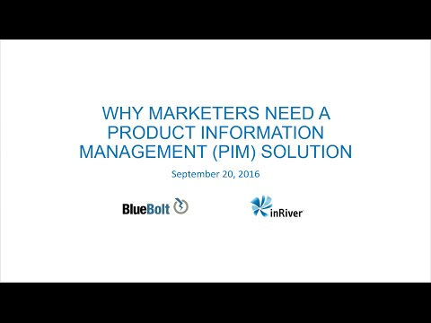 Why Marketers Need Product Information Management (PIM)
