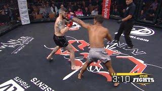 Fight of the Week: Dinis Paiva vs. Branden Seyler at CES MMA 46