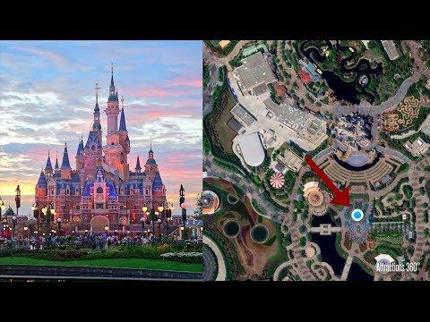 Full Shanghai Disneyland Tour with Animated GPS MAP
