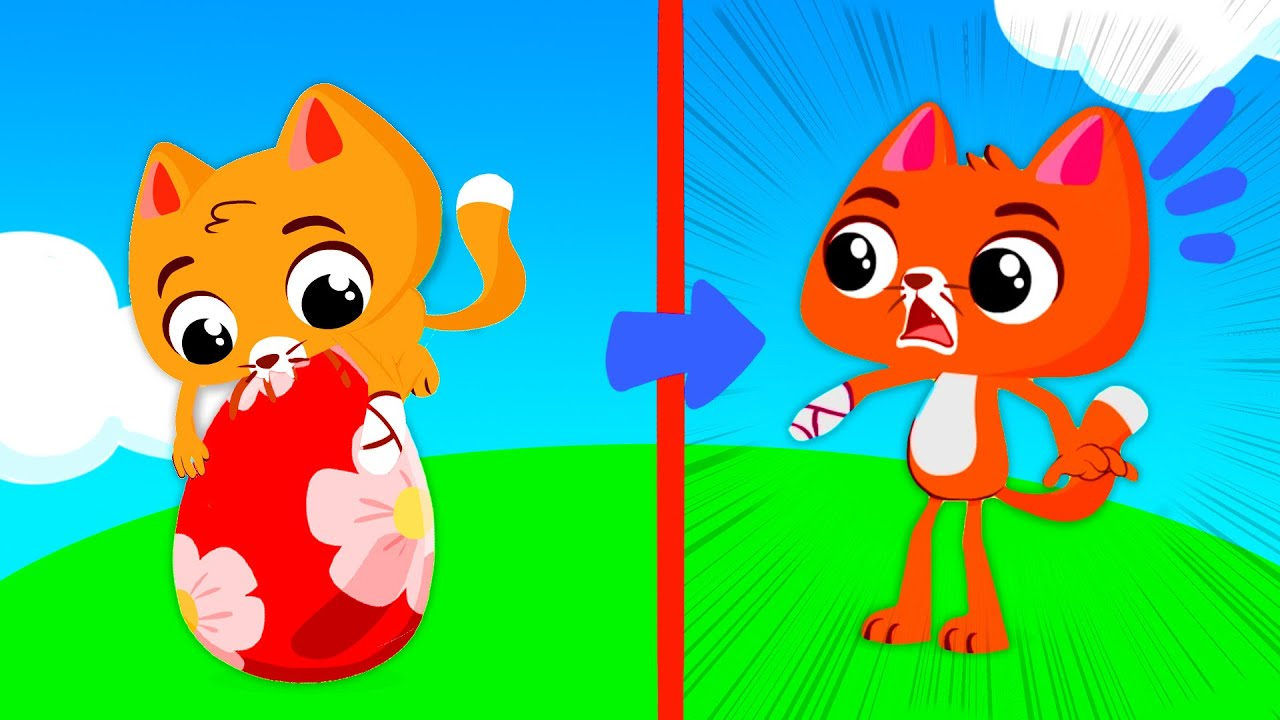 NEW! Learn the colors with Catty and the Easter Eggs | Superzoo