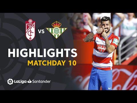 Highlights Granada CF vs Real Betis (1-0)