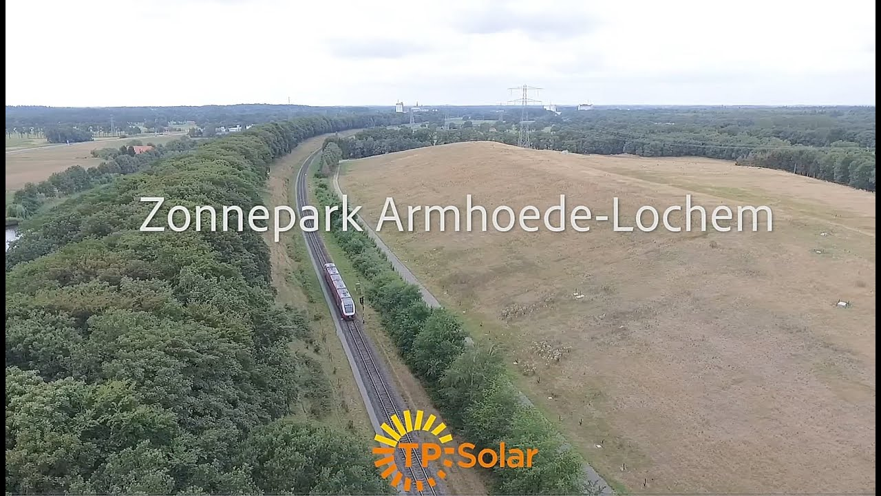 VIDEO: Bouw Zonnepark Armhoede in Lochem