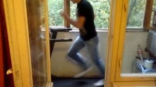 Тест-драйв беговой дорожки Максимальная скорость!!!
