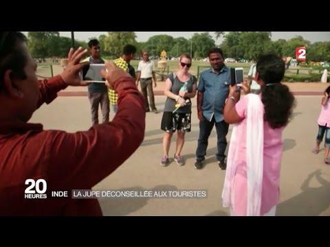 Inde : la jupe déconseillée aux touristes