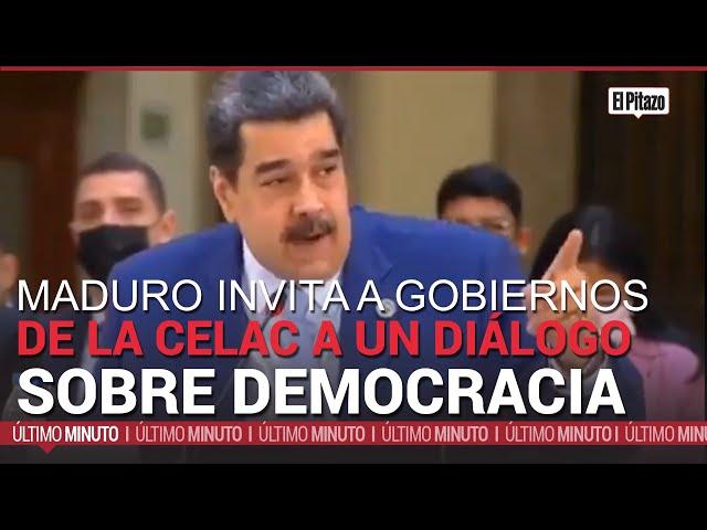 Maduro invita a gobiernos de la CELAC a debatir sobre la democracia