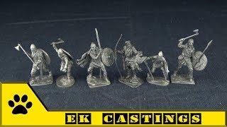 EK Castings. ВИМ, оловянные солдатики - Викинги.