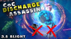 [Path of Exile 3.8] CoC Discharge Assassin Build Guide || no Cospri's Malice or Voll's Protector