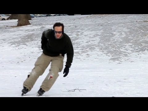Ice Skating In Inline Skates? Ice Blades