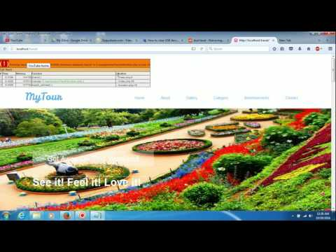 FREE PHP PROJECT IN TRAVEL & TOURISM