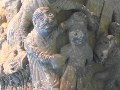 Historiated capitals, Church of Sant Miquel, Camarasa (Noguera)