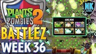 PvZ 2  - Battlez - Jade League Finale + Week 36 - Battles 1-5
