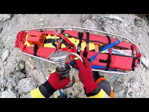 Search And Rescue Training At Sea