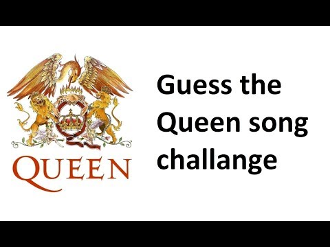 Guess The Queen Song Challange /Hard/