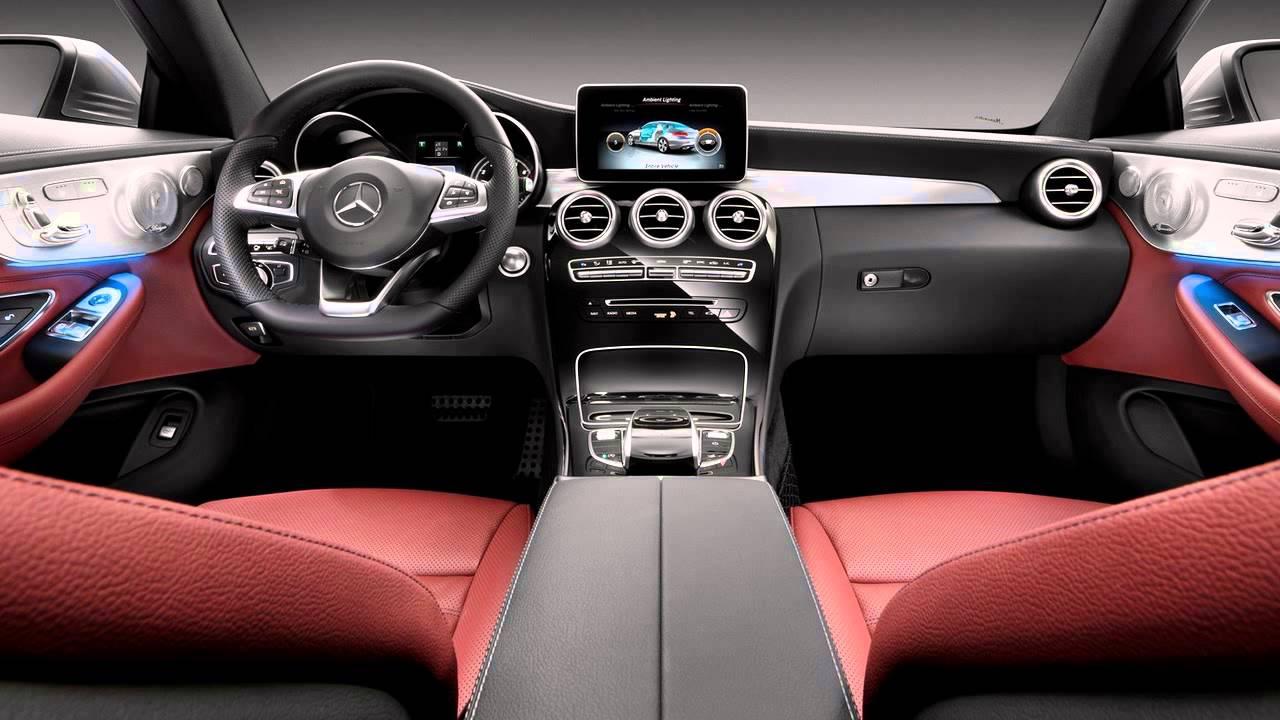 Interior 2017 Mercedes Benz C Class Coupe Youtube