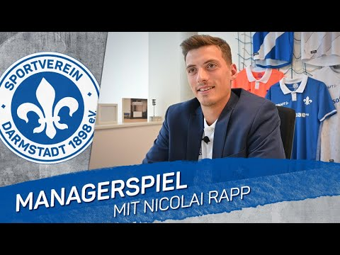 Darmstadt 98   Nicolai Rapp als Manager