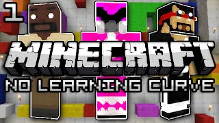 Minecraft: No Learning Curve w/ Mark and Nick - 3 Heads Are Better Than 1 (Part 1)