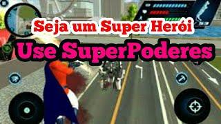 Jogo de Super Herói e Mundo Aberto para android