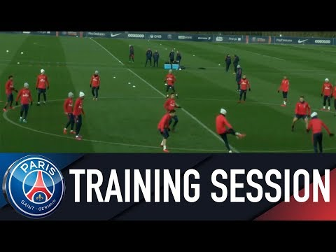 Paris Saint-Germain Training Session PARIS SAINT-GERMAIN vs ESTAC Troyes
