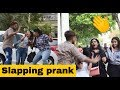 "Slapping Prank on Cute Girl""s #"