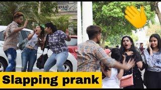 "Slapping Prank on Cute Girl""s #😲😲Prank Gone Wrong - Prank in india | Part-1|prank 2019|Ajay Dingra"