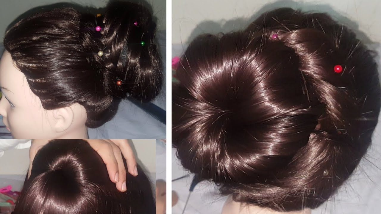 Jura Hairstyle Step By Step at Home  Beautiful Jora Style  Easy  Hairstyles Eid 4