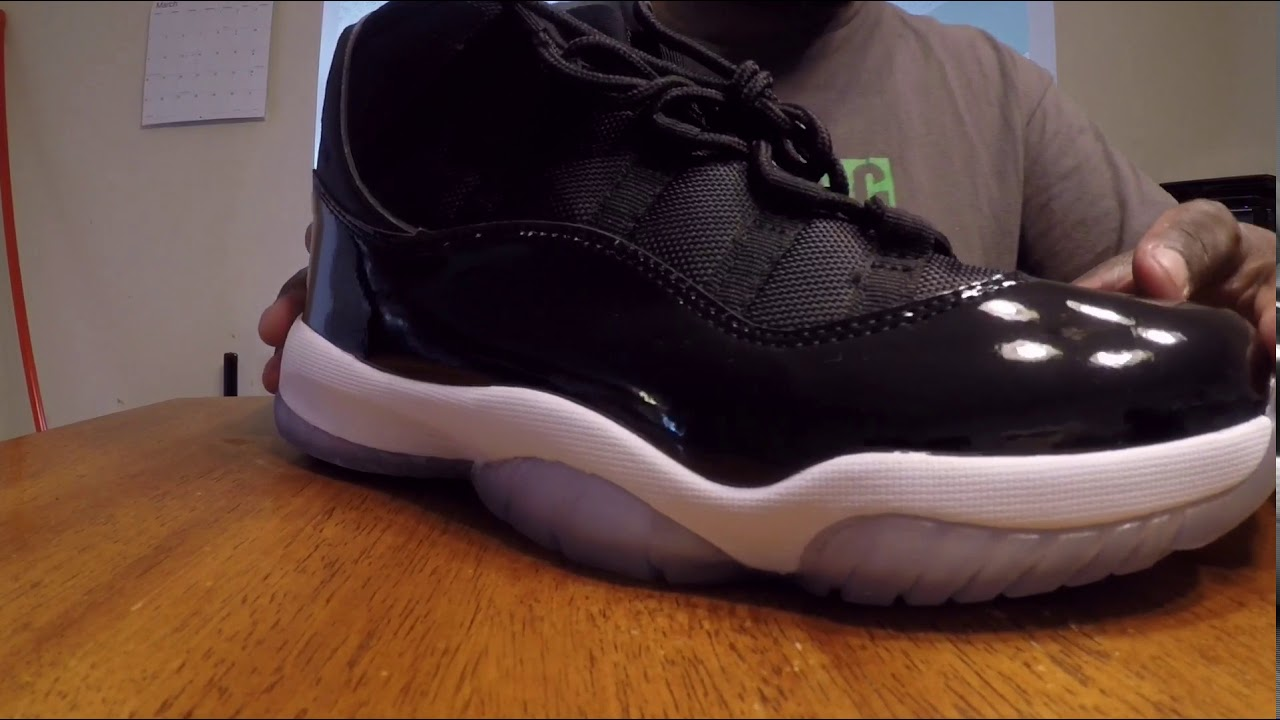42d03121307e DHGate Jordan Space Jam 11 review! - YouTube