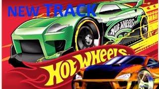 Супер гоночные  трассы  хот вилс Hot wheels new track set cars